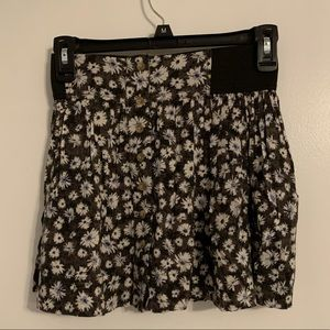 AEO floral skirt, like new